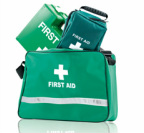 First Aid Bags Boxes