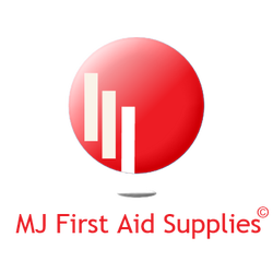 MJ Firts Aid Supplies Logo