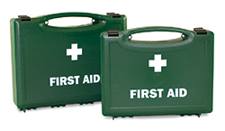 Economy empty first aid boxes