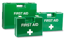 Executive empty first aid boxes
